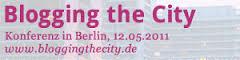 blogging the city logo