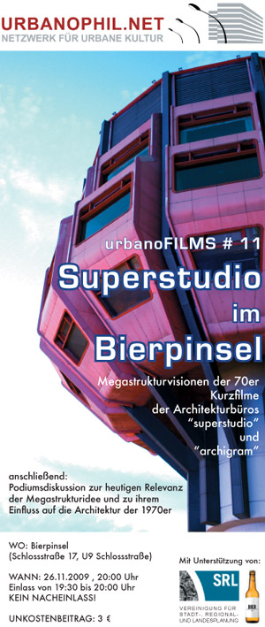 urbanoFILMS #11: Superstudio im Bierpinsel