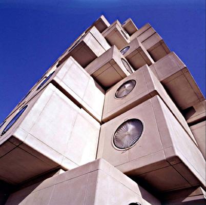 Der legendäre Kapselturm von Kurokawa in Tokio