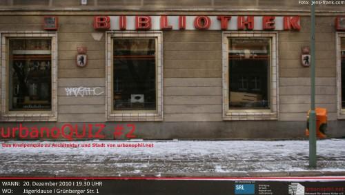 urbanoQUIZ#2 (Flyer)