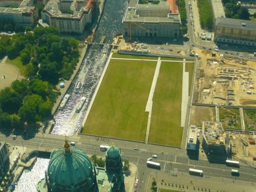 Das Herz Berlins sitzt mittig. Foto: Galene Haun