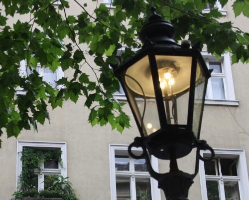 Historische Gaslaterne am Klausener Platz, Charlottenburg
