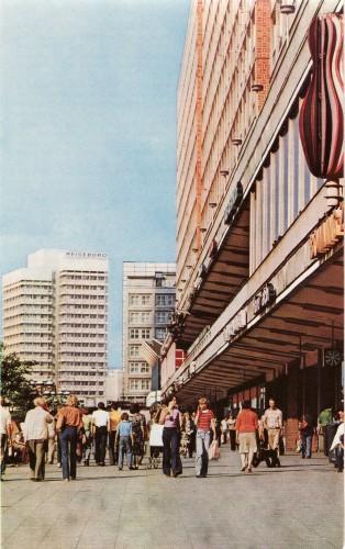 Rathausstraße Berlin in den 1970er jahren