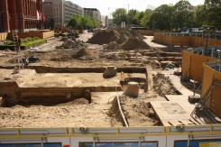 Grabungen vor dem Roten Rathaus, Berlin