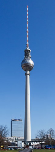 Quelle: Wikimedia/Avda, CC-BY-SA 3.0, http://commons.wikimedia.org/wiki/File:Berlin_-_Fernsehturm_-_2012.jpg
