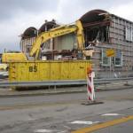 9.2.13: Abriss Nordgebäude Grenzanlage  (Foto: P. Hentschel)