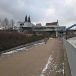 9.2.13:Südgebäude Grenzanlage – Blick Richtung Norden (Foto: P. Hentschel)
