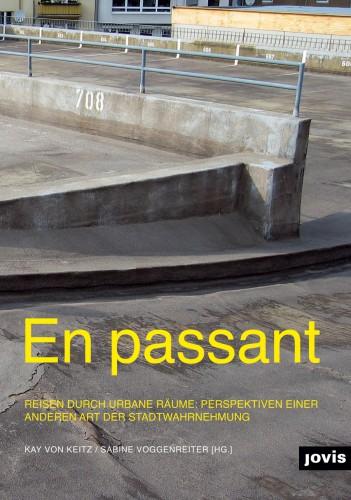 """Abb. Cover des Buches """"En passant"""", Jovis Verlag Berlin"""