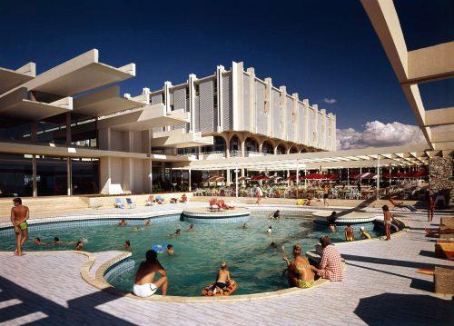 Resort Haludovo, Malinska (Krk), Architekt Boris Magaš 1971 – 72