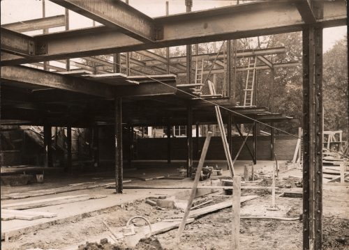 Haus Tugendhat - Baustelle, 1929 © strandfilm, Pandora Film Verleih