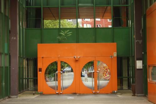 Eingang Diesterweg-Gymnasium