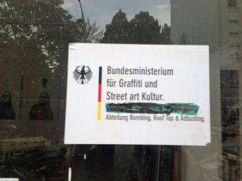 Bundesministerium für Graffiti und Street Art Kultur
