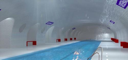 Planschen, wo früher Züge durchrauschten? (by OXO Architectes + Laisné Architecte)