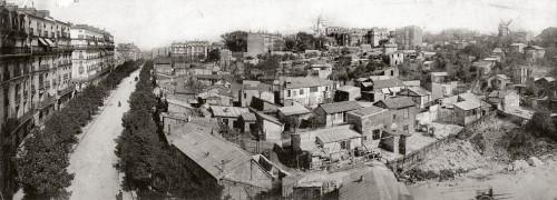 Blick auf Montmartre um 1904