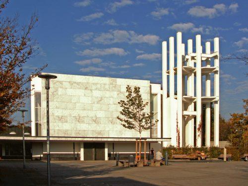 Wo steht diese Kirche von Alvar Aalto?