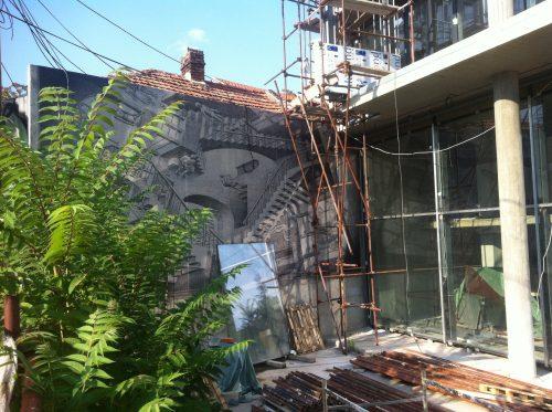 Zufällig findet man vieles, auch M.C. Escher in Belgrad