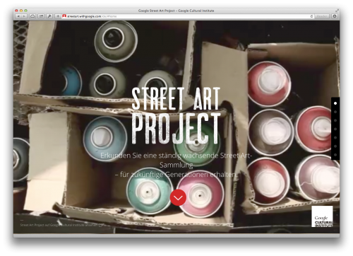 Google Street Art Project 1