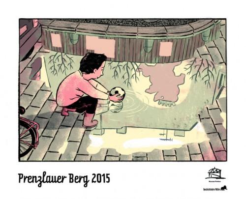 Das Cover des Kalenders 2015