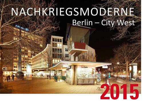 Kalender Nachkriegsmoderne City West