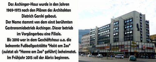 Abb.: Das Aschinger-Haus; Foto Axel Goedel