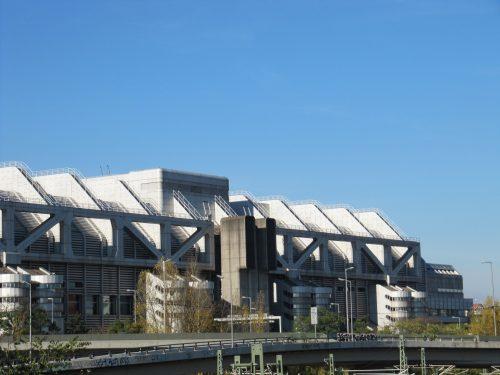 Das ICC im Herbst 2010