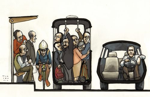 Justicia Urbana (von Fabian Todorovic, Chile)