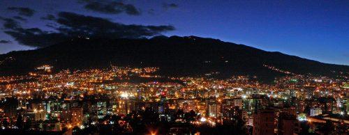 Panorama von Quito