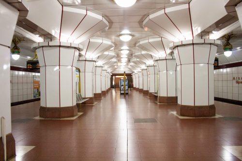 U-Bahnhof Altstadt Spandau, Rainer Rümmler, 1984