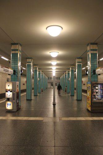 U-Bahnhof Tierpark, 1973