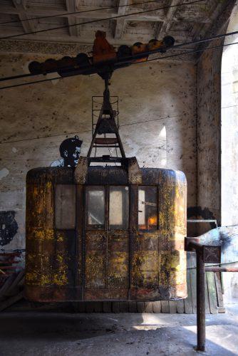Schon seit über 50 Jahren in Betrieb-Die Seilbahnen in Tchiatura