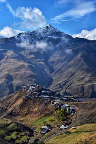 Xinaliq, das höchste Bergdorf Europas, Aserbaidschan