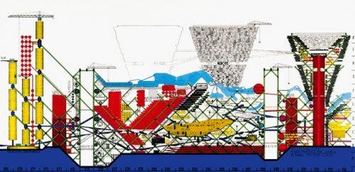 Zeichung des Modells der Plug-In City